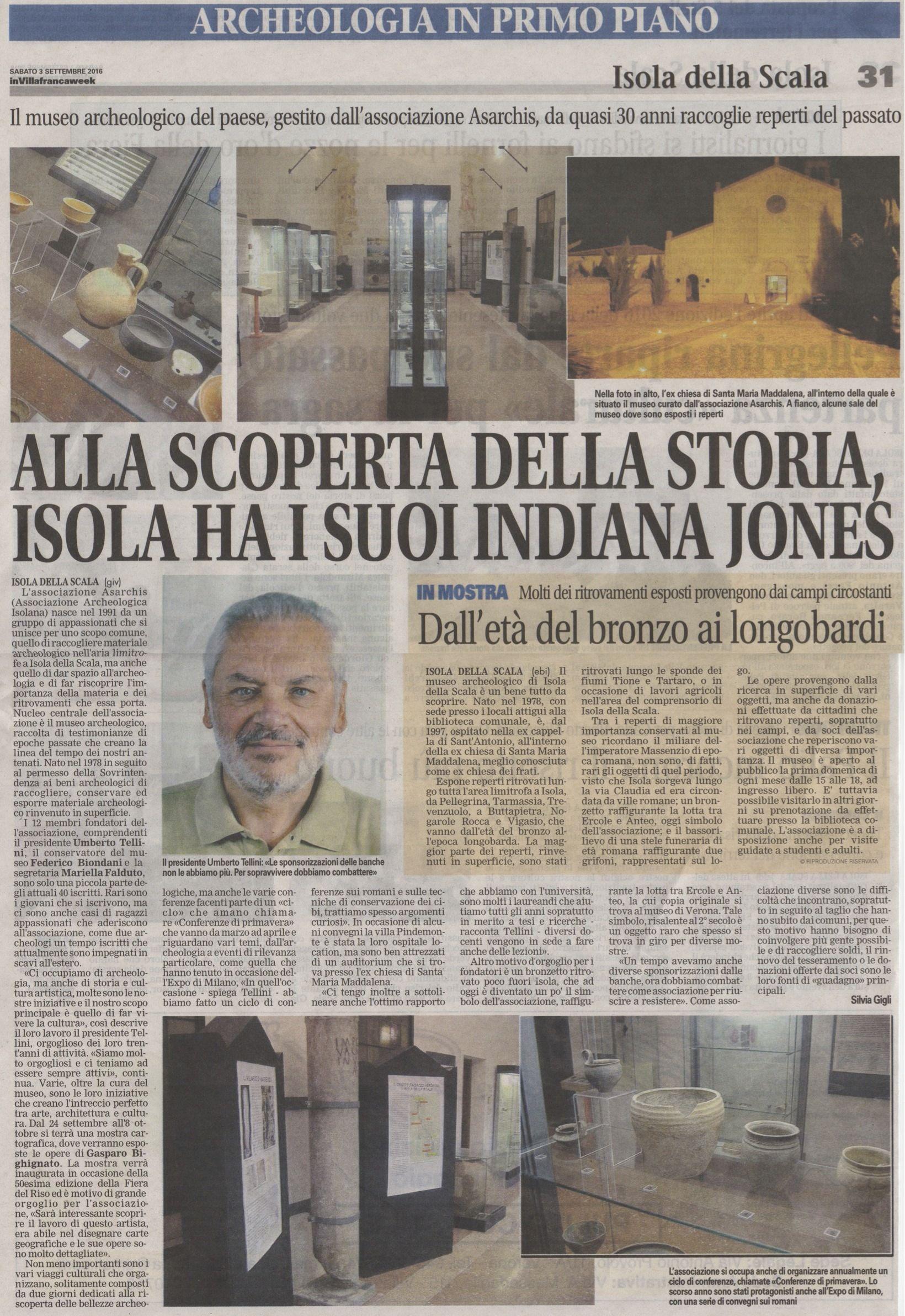 Articolo Villafrancaweek